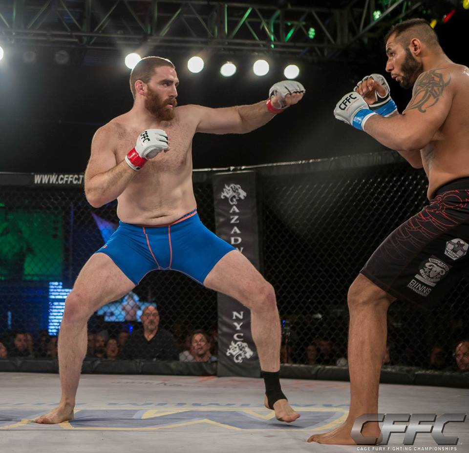 Chris Birchler MMA - Fighting stance