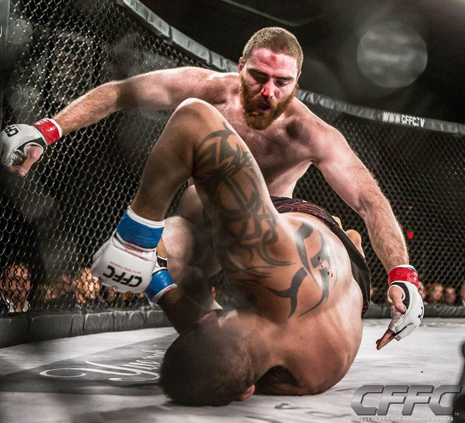 Chris Birchler MMA - Ground and pound
