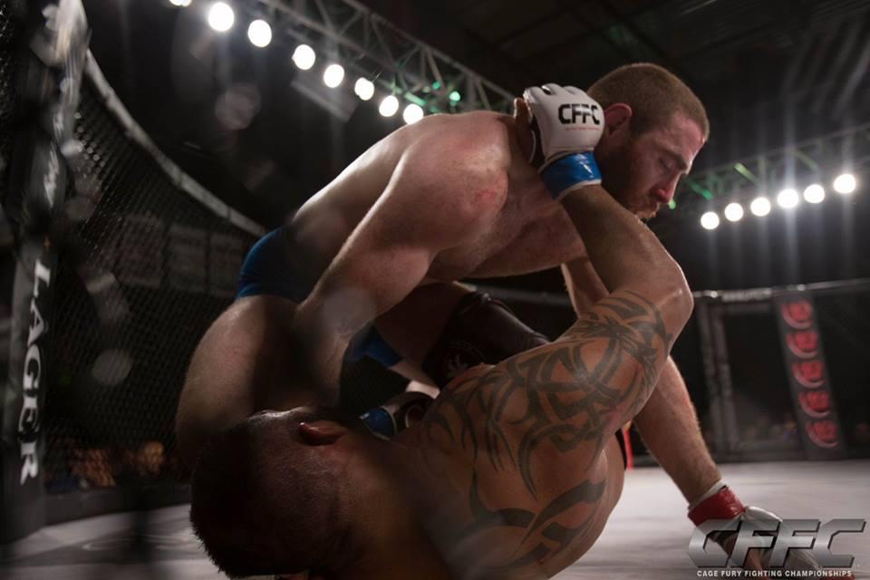 Chris Birchler MMA - Side Control